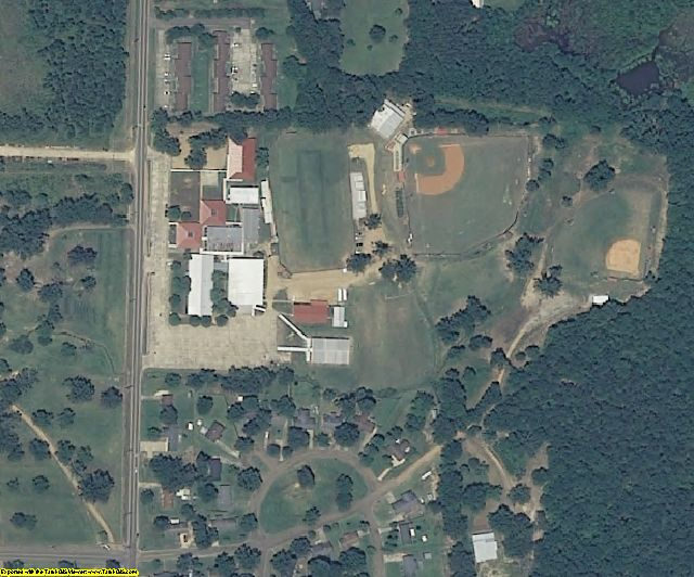 Clay County, MS aerial photography detail