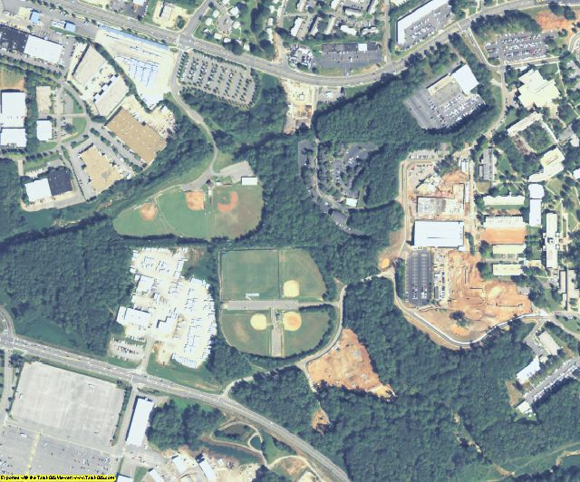 Cobb County, GA aerial photography detail