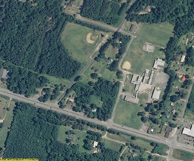 Columbus County, NC aerial photography detail