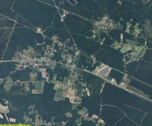 Columbus County, North Carolina aerial photography