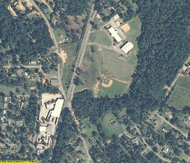 Conecuh County, AL aerial photography detail