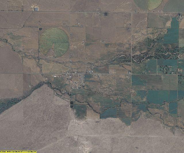 Conejos County, Colorado aerial photography