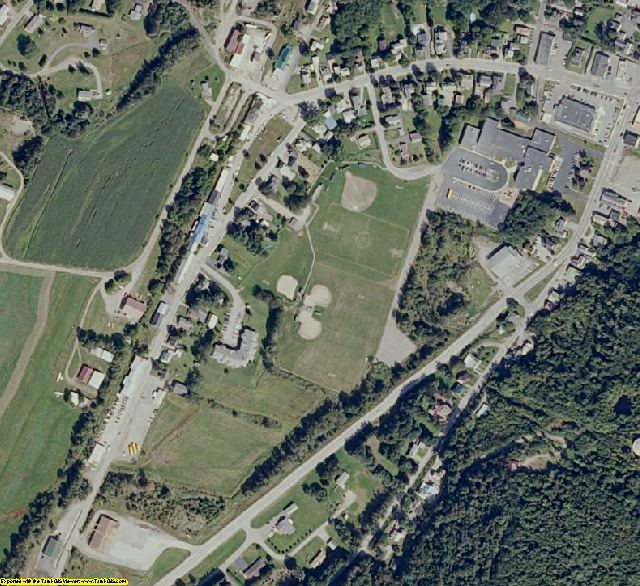 Coos County, NH aerial photography detail