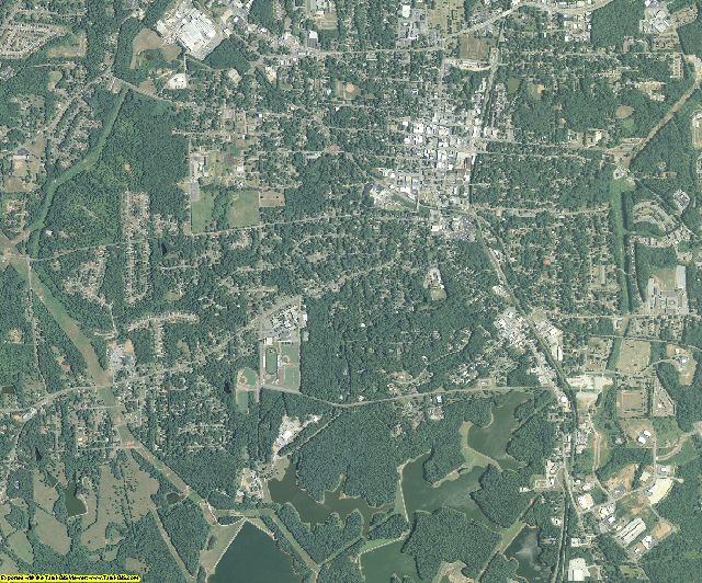 Coweta County, Georgia aerial photography