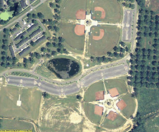 Crisp County, GA aerial photography detail