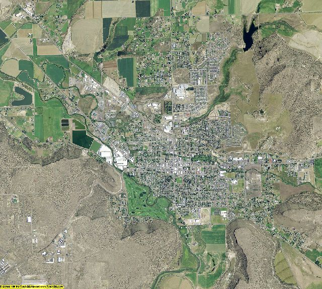 Crook County, Oregon aerial photography