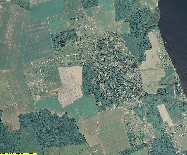 Currituck County, North Carolina aerial photography
