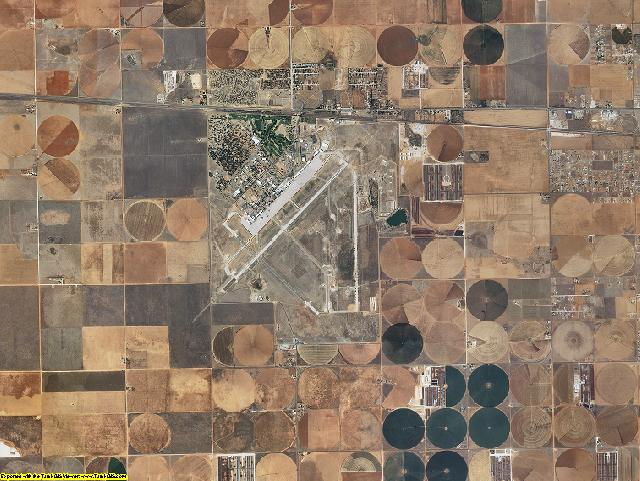 Curry County, New Mexico aerial photography