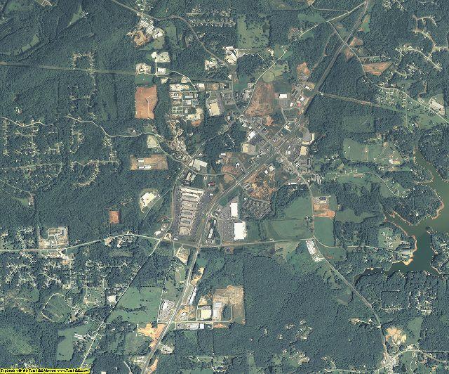Dawson County, Georgia aerial photography