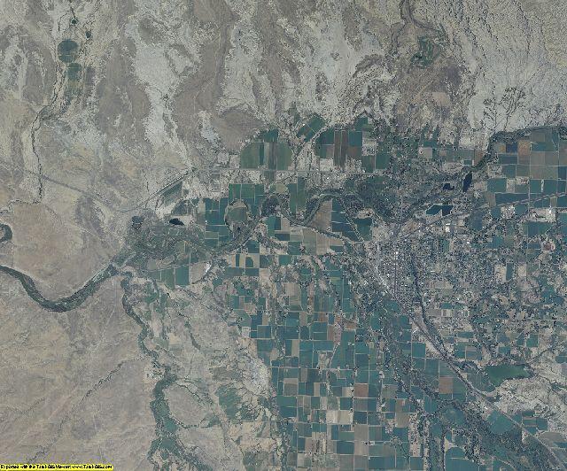 Delta County, Colorado aerial photography