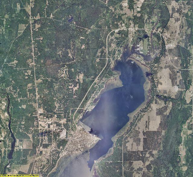 Delta County, Michigan aerial photography