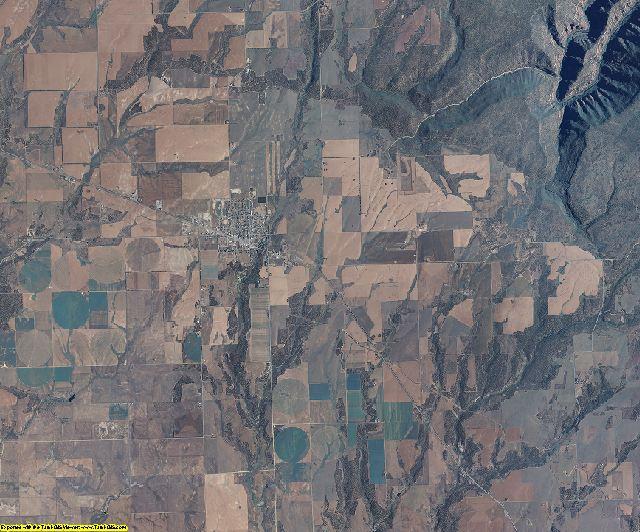 Dolores County, Colorado aerial photography