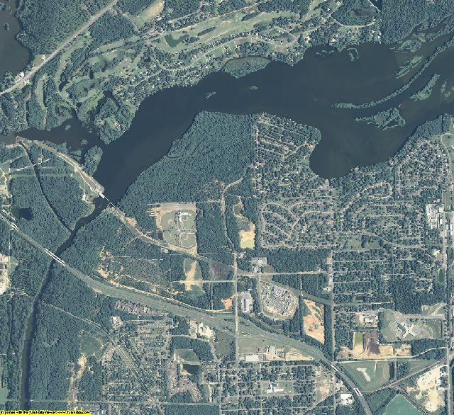 Dougherty County, Georgia aerial photography