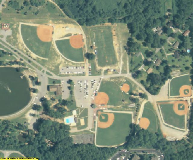 Douglas County, GA aerial photography detail