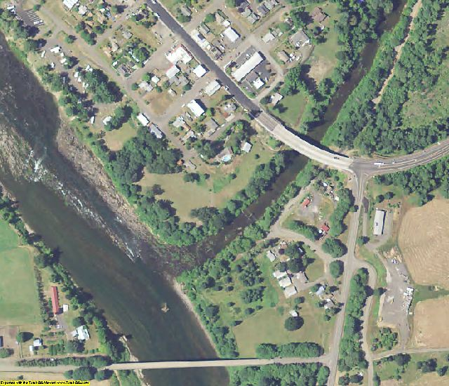 Douglas County, OR aerial photography detail
