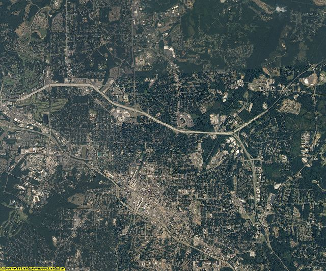 Durham County, North Carolina aerial photography