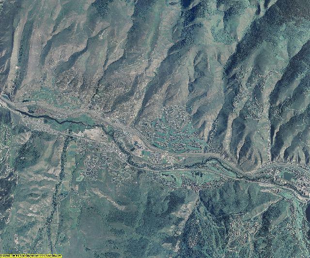 Eagle County, Colorado aerial photography