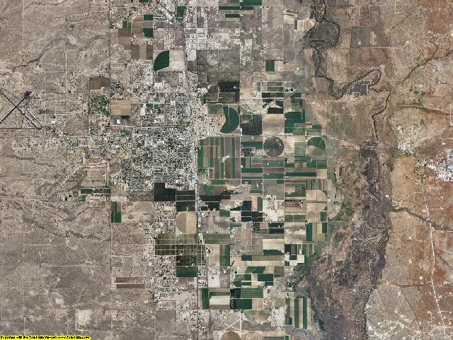 Eddy County, New Mexico aerial photography