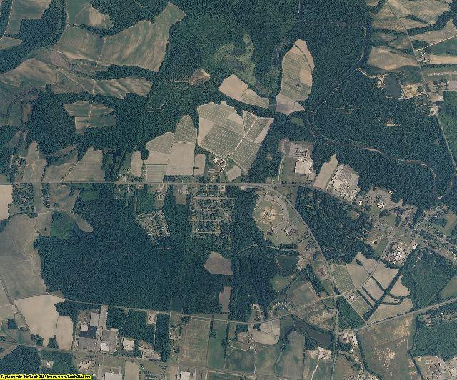 Edgecombe County, North Carolina aerial photography