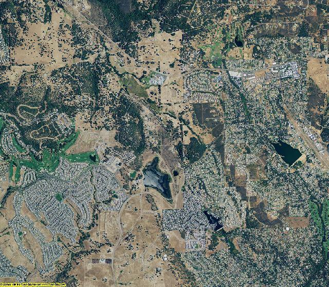El Dorado County, California aerial photography