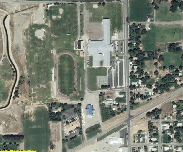 Elmore County, ID aerial photography detail