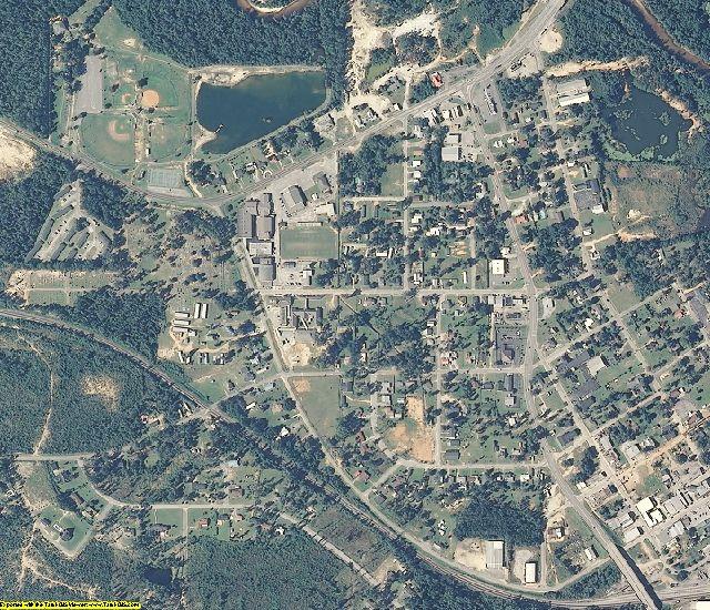 Escambia County, AL aerial photography detail