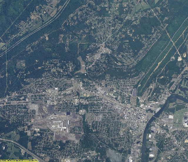 Etowah County, Alabama aerial photography
