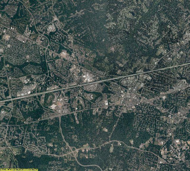 Fairfax County, Virginia aerial photography