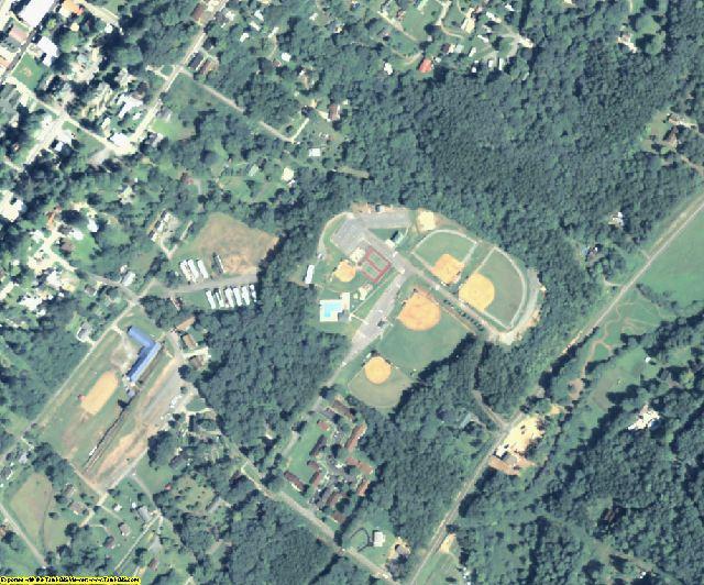 Fannin County, GA aerial photography detail