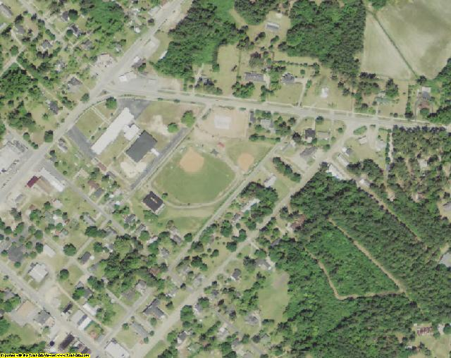 Florence County, SC aerial imagery zoomed in! This shows the level of ...