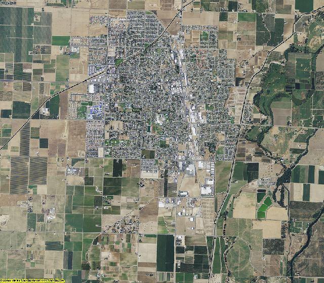 Fresno County, California aerial photography