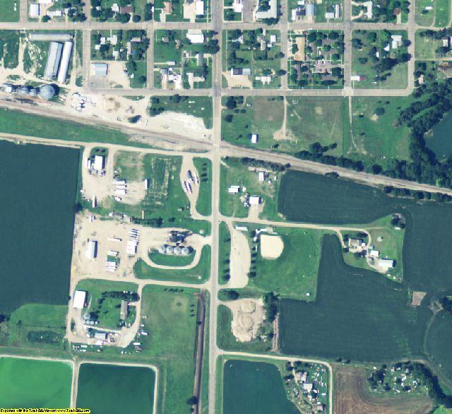 Furnas County, NE aerial photography detail