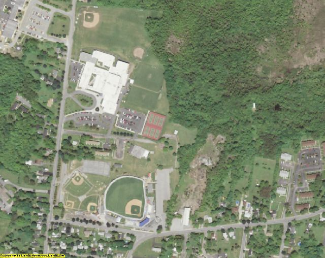 Genesee County, NY aerial photography detail