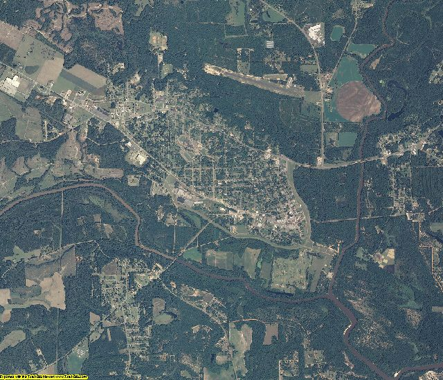 Geneva County, Alabama aerial photography