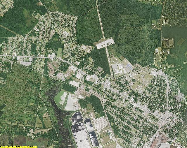 Georgetown County, South Carolina aerial photography