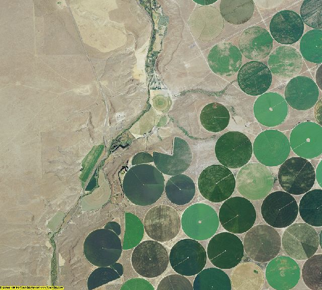 Gilliam County, Oregon aerial photography