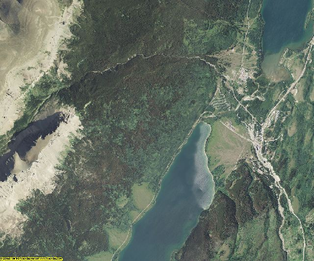 Glacier County, Montana aerial photography
