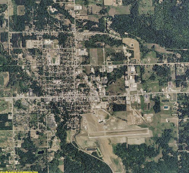 Gladwin County, Michigan aerial photography