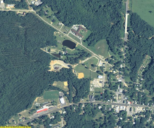 Glascock County, GA aerial photography detail