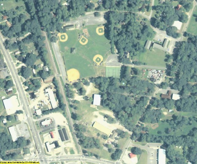 Glynn County, GA aerial photography detail