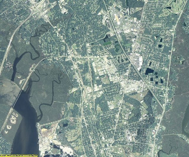 Glynn County, Georgia aerial photography