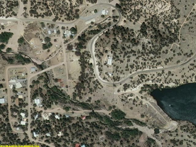 Grant County, NM aerial photography detail