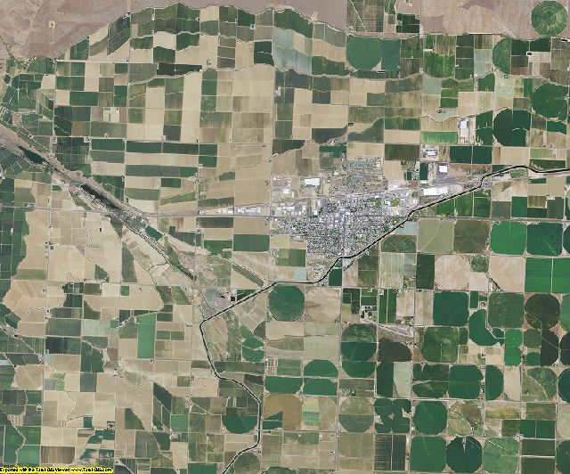 Grant County, Washington aerial photography