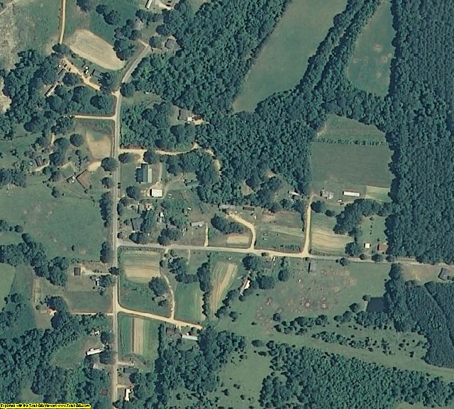 Greene County, AL aerial photography detail