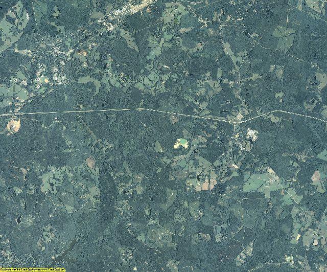 Greene County, Georgia aerial photography
