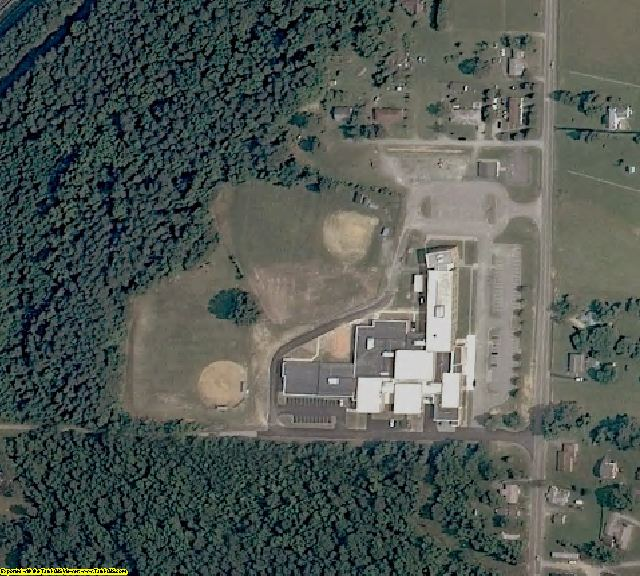 Greensville County, VA aerial photography detail