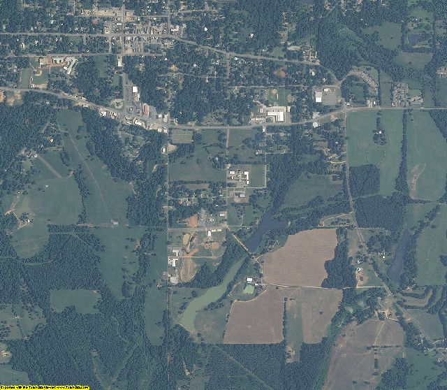 Hale County, Alabama aerial photography