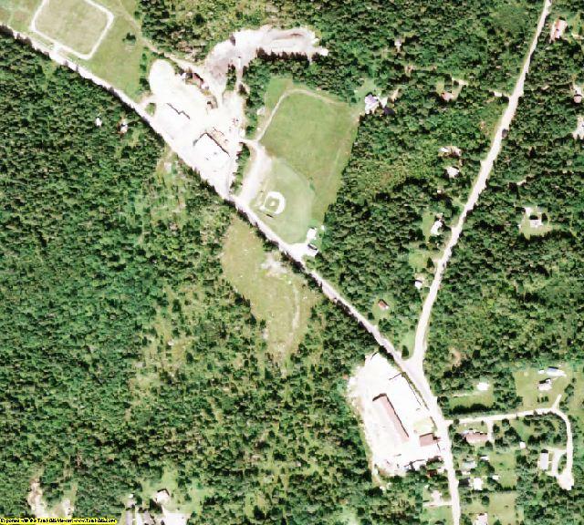 Hamilton County, NY aerial photography detail