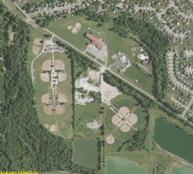 Hamilton County, OH aerial photography detail