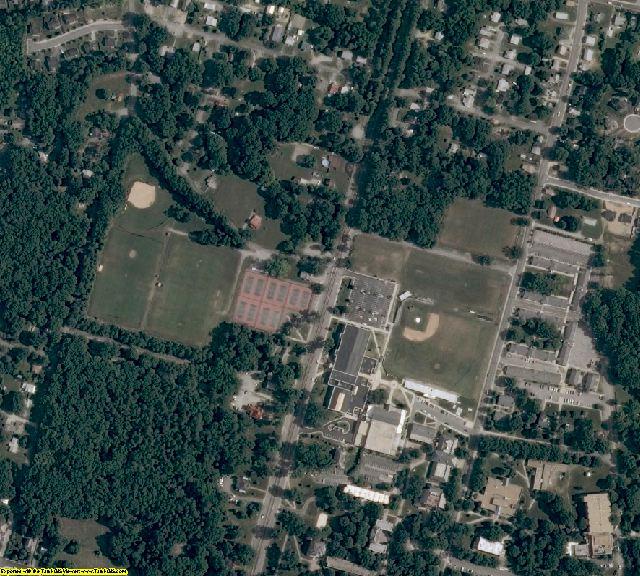 Hanover County, VA aerial photography detail